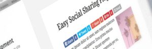 Content delen met Easy Social Share Buttons